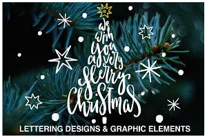 Christmas Lettering Quotes & Clipart