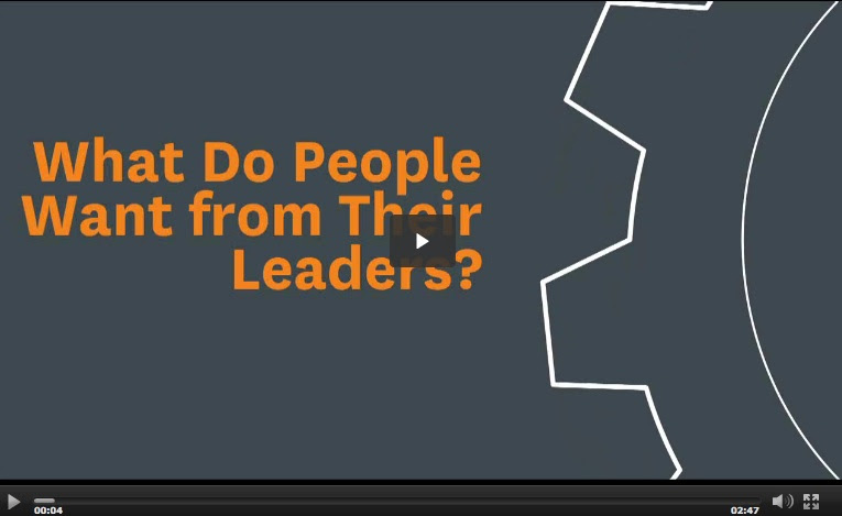 HBR - What people want from their leaders