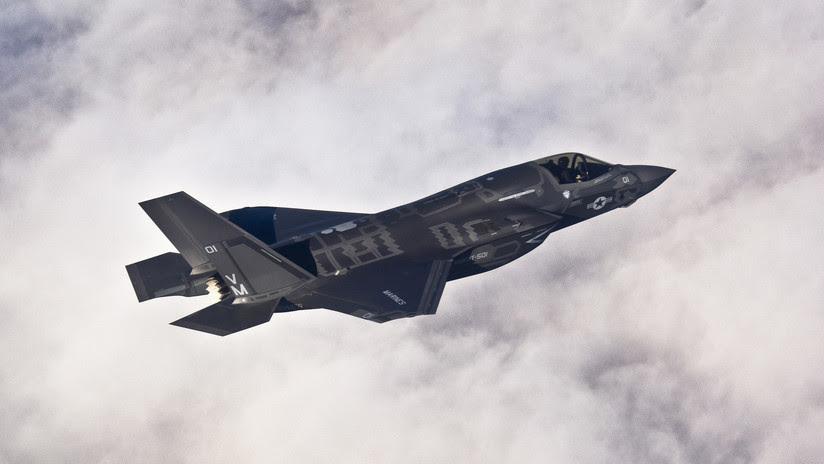 El cazabombardero estadounidense F-35B lanza su primer ataque real