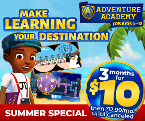 Adventure Academy 3 Months for $10 [432621]