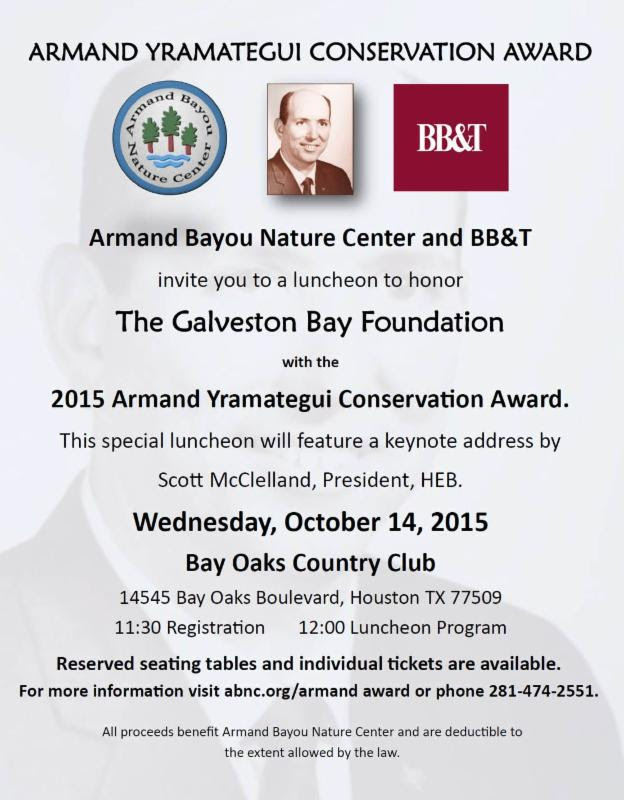 Armand Yramategui Conservation Award Luncheon @ Bay Oaks Country Club | Houston | Texas | United States
