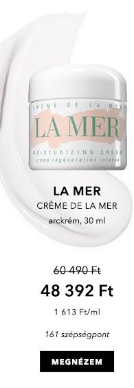GLAMOUR-napok 2020 - Crème de la Mer - Arckrém