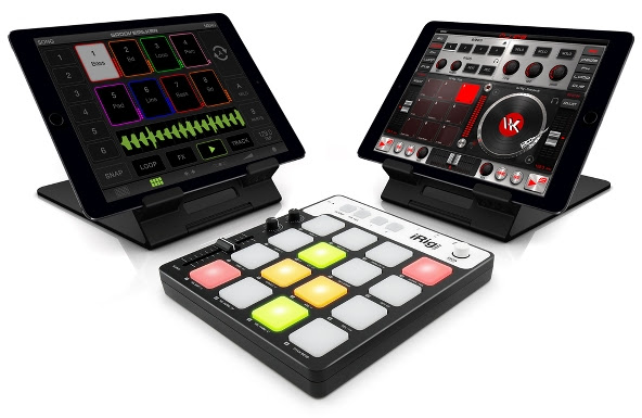 GrooveMaker 2, DJ Rig and iRig Pads