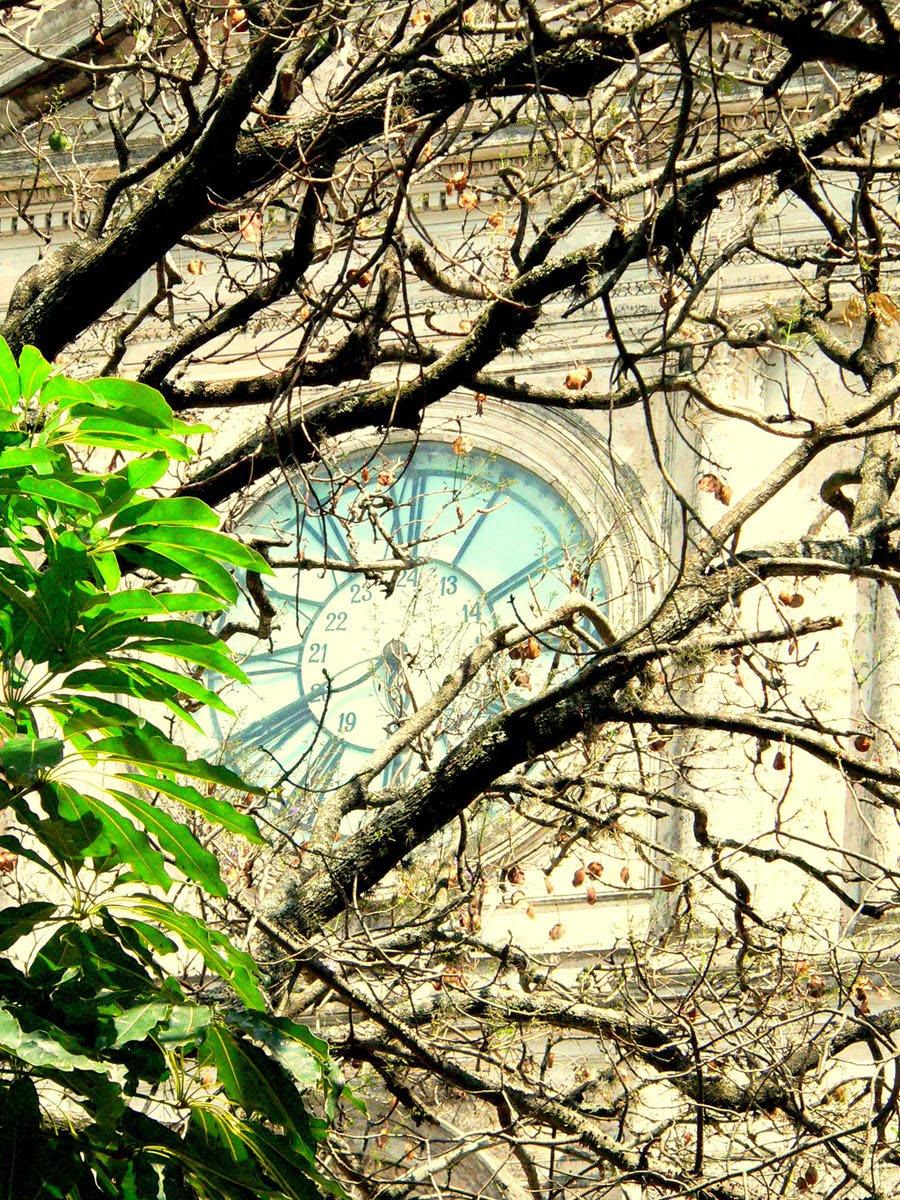 Después 20 años vuelve a funcionar el reloj del edificio de la Jefatura de Policía