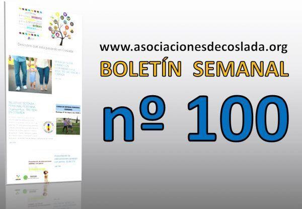 celebramos el BOLETÍN nº 100 !!!