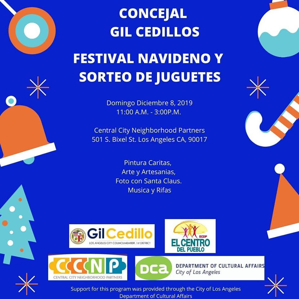 12-8-19 Toy Giveaway Flyer Spanish