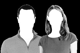 Homem e mulher do setor privado