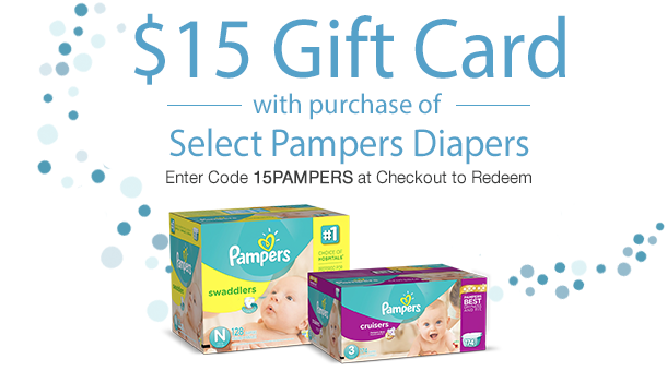 $15 Gift Card with Purchase of...