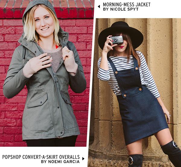 Morning-Mess Jacket & COnvert-A-Skirt Overalls
