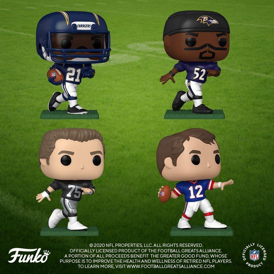 Image of Funko Pop! NFL: NFL Legends - Bundle of 7 Vinyl Figures