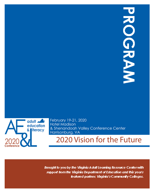 Image of front cover of conference program