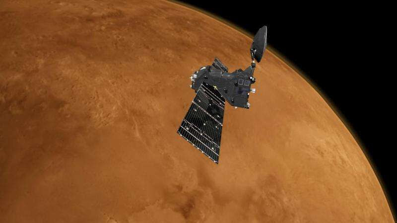 ESA's new Mars orbiter prepares for first science