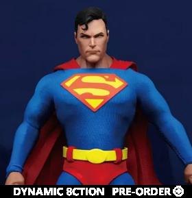DC Comics Dynamic 8ction Heroes DAH-045 Superman
