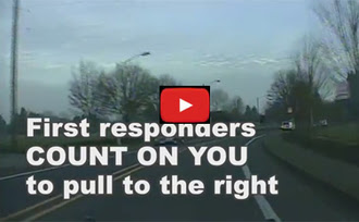 """Salem Police Department """"Driver Tune Up: Pull to the right for sirens and lights"""" YouTube video"""