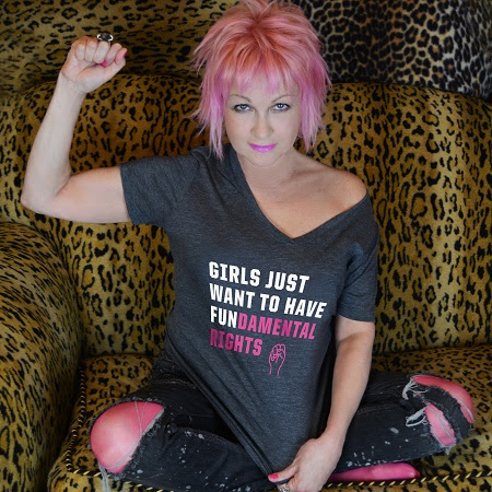 Cyndi Lauper: Girls Just Want To Have FUNdamental Rights