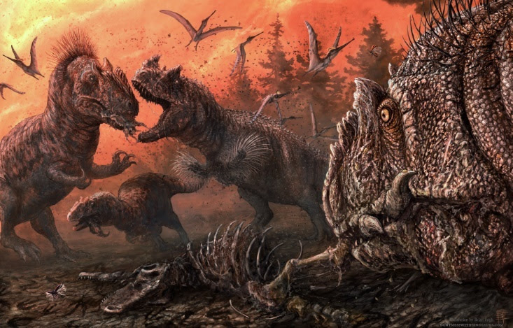 Newswise: In stressed ecosystems Jurassic dinosaurs turned to scavenging, maybe even cannibalism