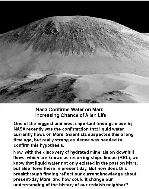 Water Flow on Mars