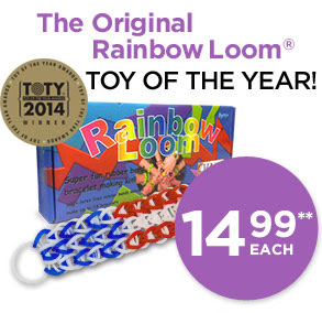 The Original Rainbow Loom® TOY OF THE YEAR! NEW LOW PRICE 14.99**