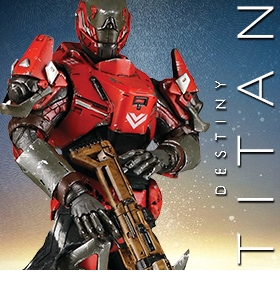 1/6 Scale Destiny Figure - Titan