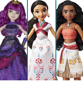 HASBRO DISNEY PRINCESS FIGURES & PLAYSETS