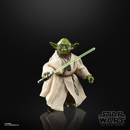 Image of Star Wars The Black Series Empire Strikes Back 40th Anniversary 6-Inch Yoda Action Figure Wave 1 - MAY 2020