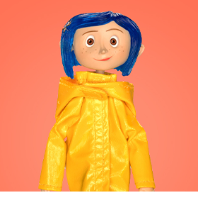 CORALINE ARTICULATED FIGURE