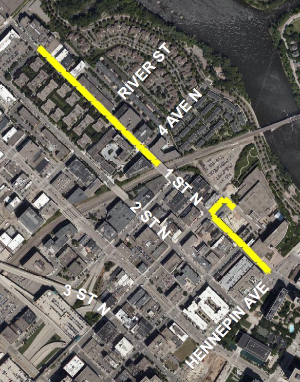 CNP Map of North Loop Neighborhood