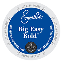 Emeril's Big Easy Bold Keurig Kcup coffee
