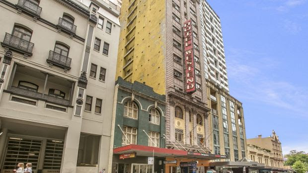 Westend Hotel, 412 Pitt Street, was sold for $19 million to a private investor.