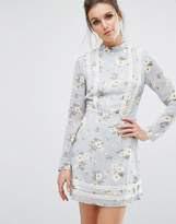 Missguided Floral Tea Dress