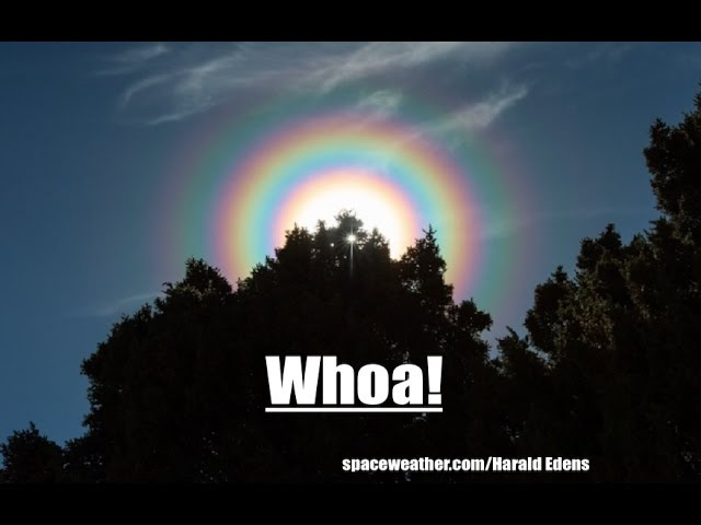 Multiple Rings Observed in the Sky Around Sun | *NEW NEO* zips past Earth!  Sddefault