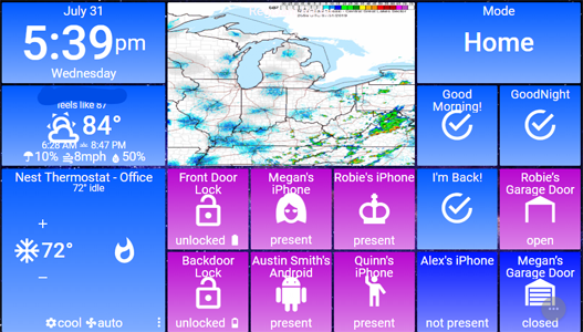 ActionTiles com] SmartThings interface for phones/tablets 20