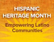 Hispanic Heritage Month badge