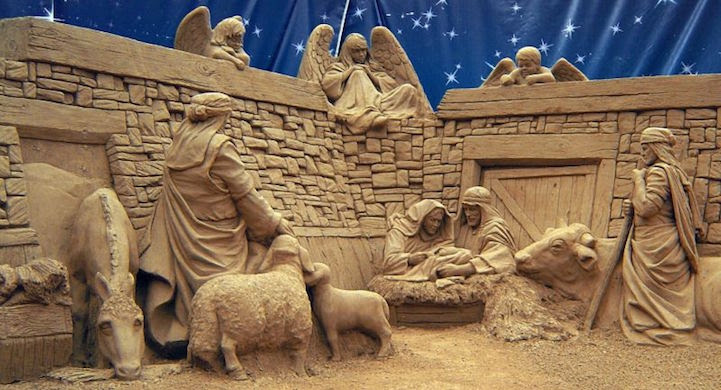 Песчаные скульптуры Рея Виллафейна  Виллафейн, Рей, песок, скульптура