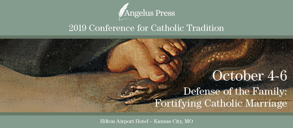 Latest Angelus Press Conference - page 1 - SSPX Resistance