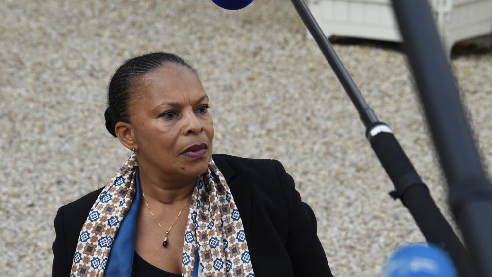 La ministre de la Justice, Christiane Taubira, le 21 octobre 2015 à Paris.