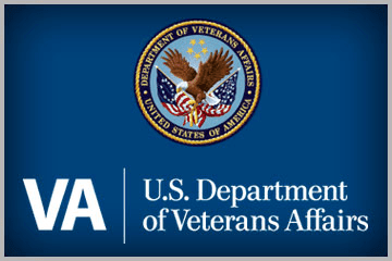 Logo for US Department of Veterans Affairs