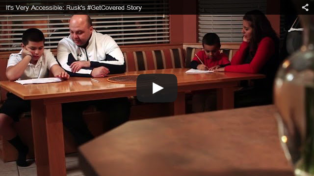 YouTube Embedded Video: It's Very Accessible: Rusk's #GetCovered Story