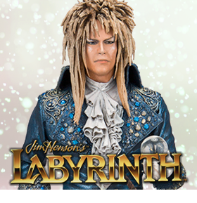 LABYRINTH JARETH COLOR TOPS COLLECTOR EDITION