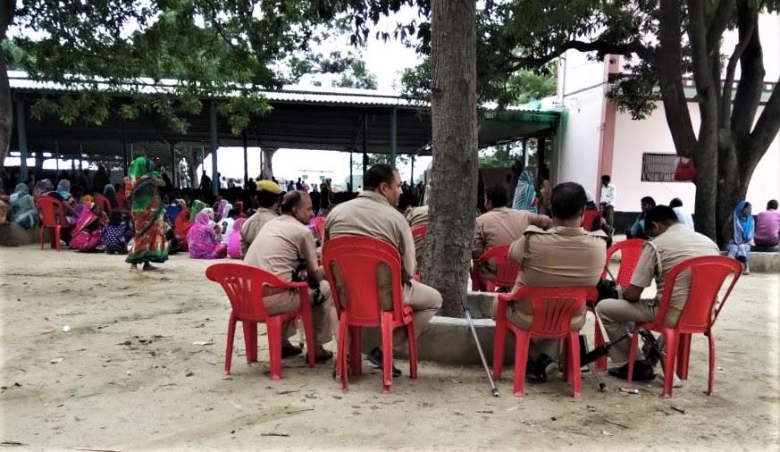 Police anticipate Hindu extremist threat at church service on Aug. 5 in Bhulandih village, Jaunpur District, Uttar Pradesh, India. (Morning Star News)