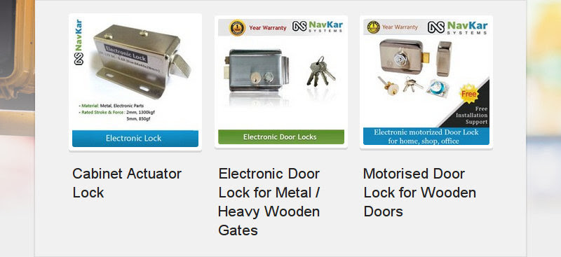 Cabinet Actuator Lock<br /> Electronic Door Lock for Metal / Heavy Wooden Gates<br /> Motorised Door Lock for...