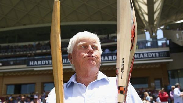 The difference between the past and the present cricket bat