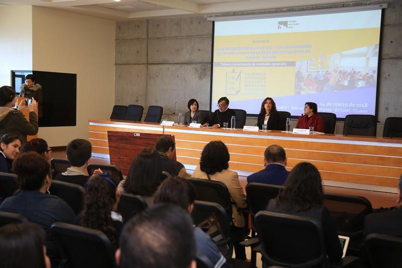 Inicia El Colef Encuesta de Integración Escolar y Migración en 85 escuelas de Tijuana