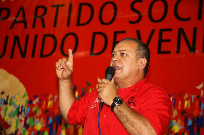 Diosdado Cabello, Presidente de la AN y miembro de la Dirección Nacional del PSUV