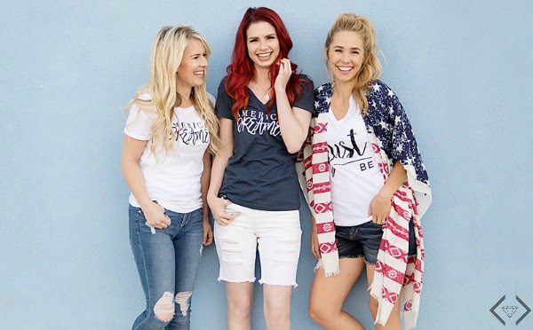 Fashion Friday Story - 6/10/16 - American Dreamer - FREE Shirt with any $30 purchase + FREE SHIPPING