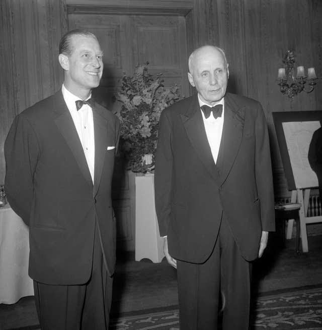 Philip and Dr Kurt Hahn