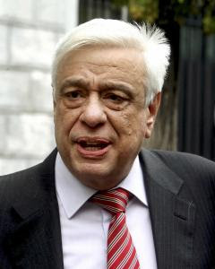 El exministro conservador griego de Interior Prokopis Pavlopoulos. REUTERS/Tatiana Mpolari/Eurokinissi