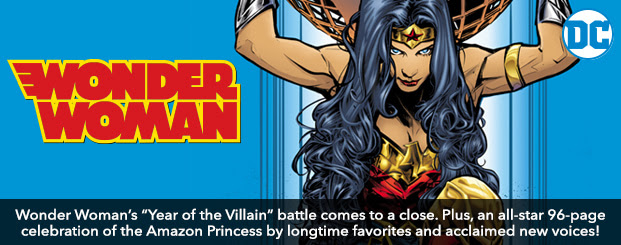 Wonder Woman (2016-) #750 Wonder Woman's epic Year of the Villain battle comes to a close. Plus, an all-star 96-page celebration of the Amazon Princess by longtime favorites and acclaimed new voices! Shop Now