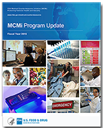 MCMi program update FY15 - report cover