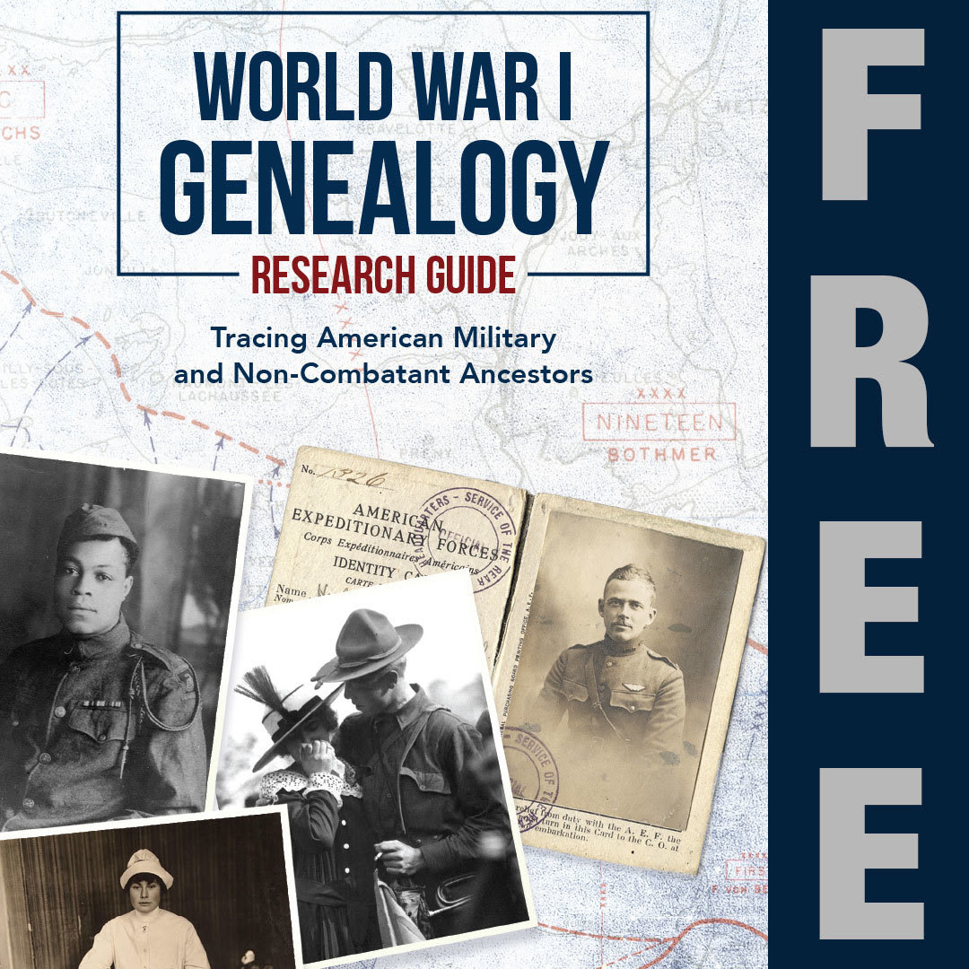Genealogy Guide Cover - FREE vertical
